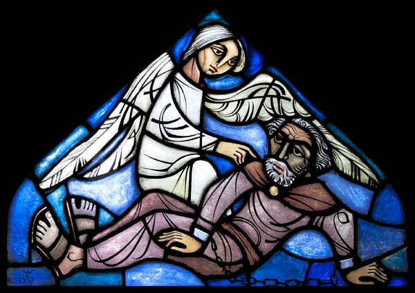 St. Petrus' bevrijding uit de gevangenis door een Engel. (1957)