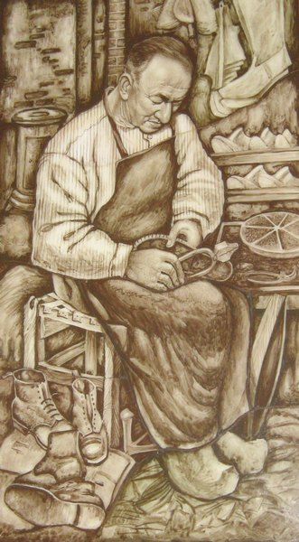 1958 - Portret van Frans Kerkhof
